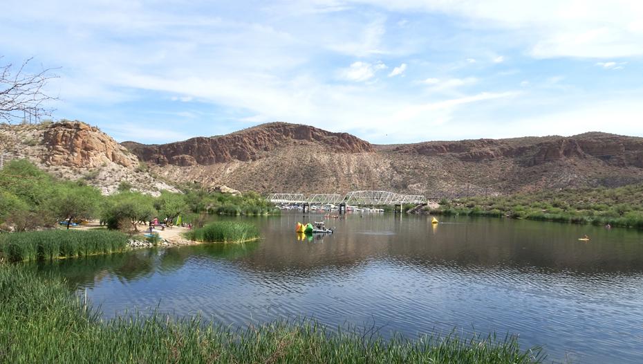Arizona Open Water Swim Series #3 at Canyon Lake, AZ