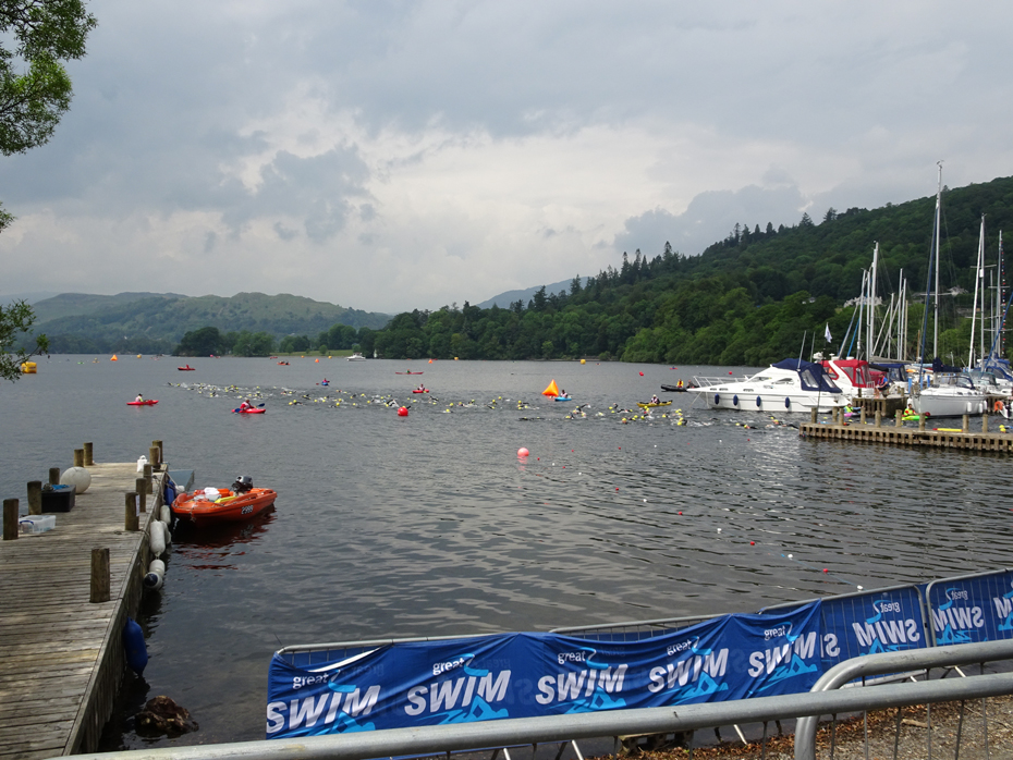 Great North Swim 2016, Lake Windermere