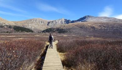 Kathleen Bober - Mt. Bierstadt hike