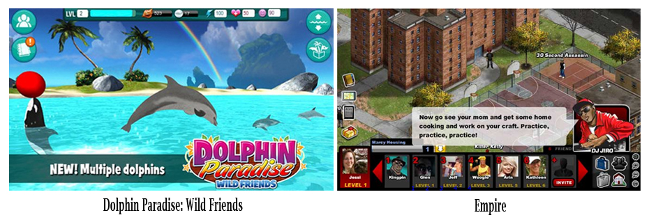 Pileated Pictures HappyGiant games - JayZ's Empire and Dolphin Paradise: Wild Friends
