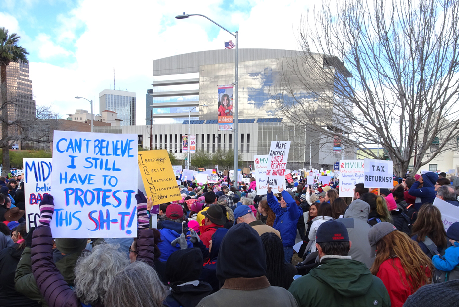 Women's March Tucson AZ January 21, 2017