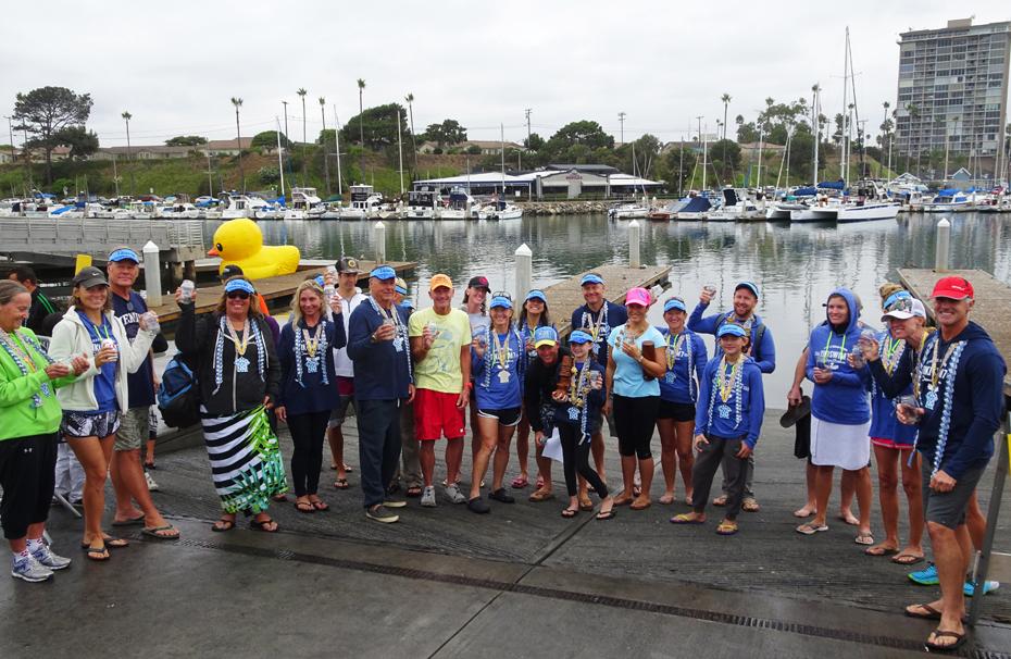 Tiki Swim 7 - 2.4 mile 1st place winners