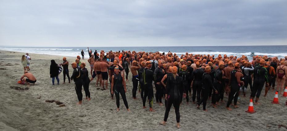 Oceanside Tiki Swim 7 - 2.4 mile start