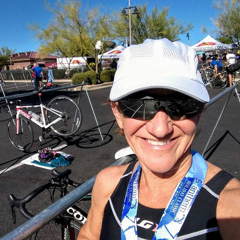 Kathleen Bober, age group winner 16th Annual Anthem Holiday Classic